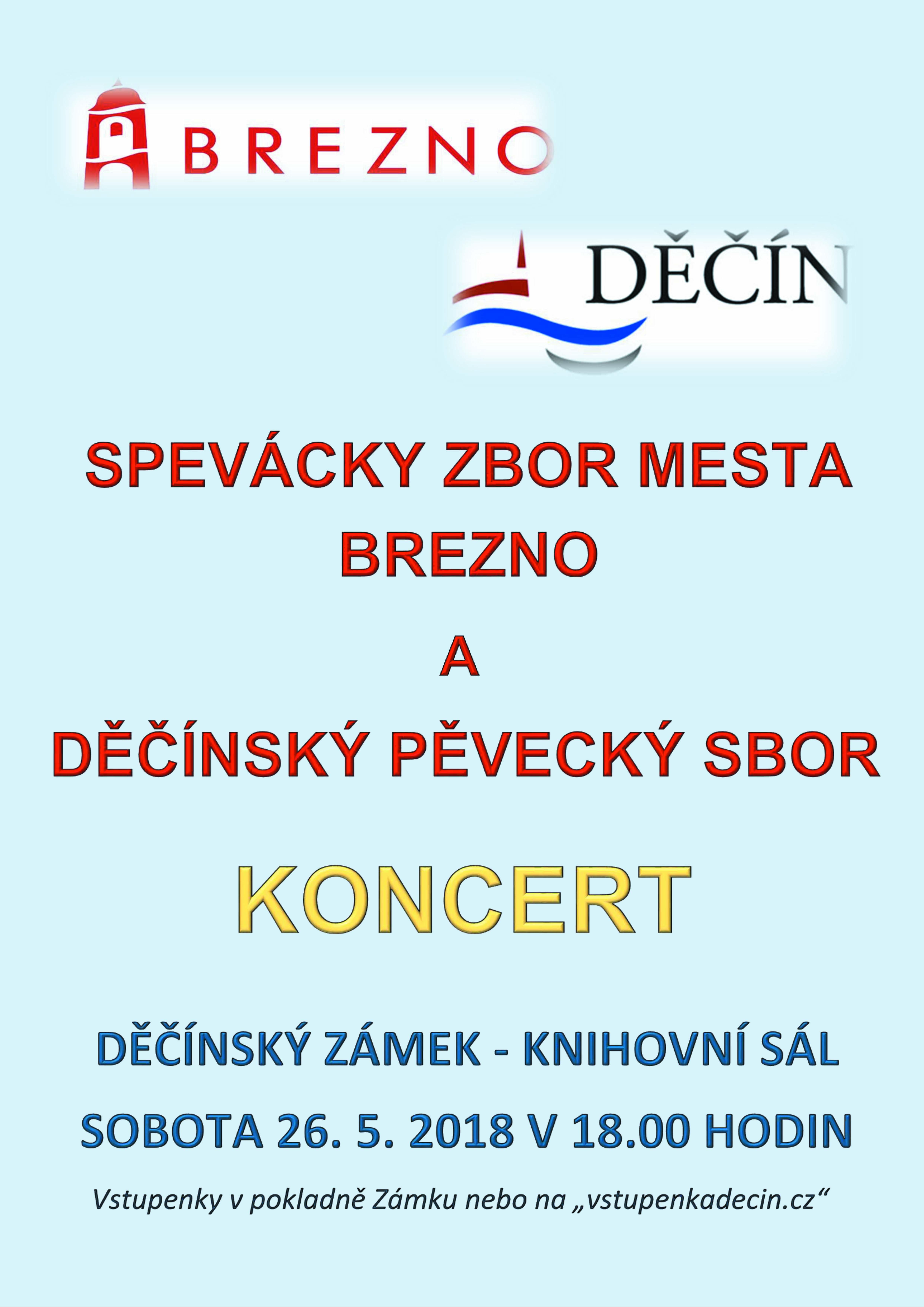Koncert na Děčínském zámku