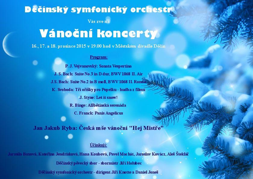 Vánoèní koncerty