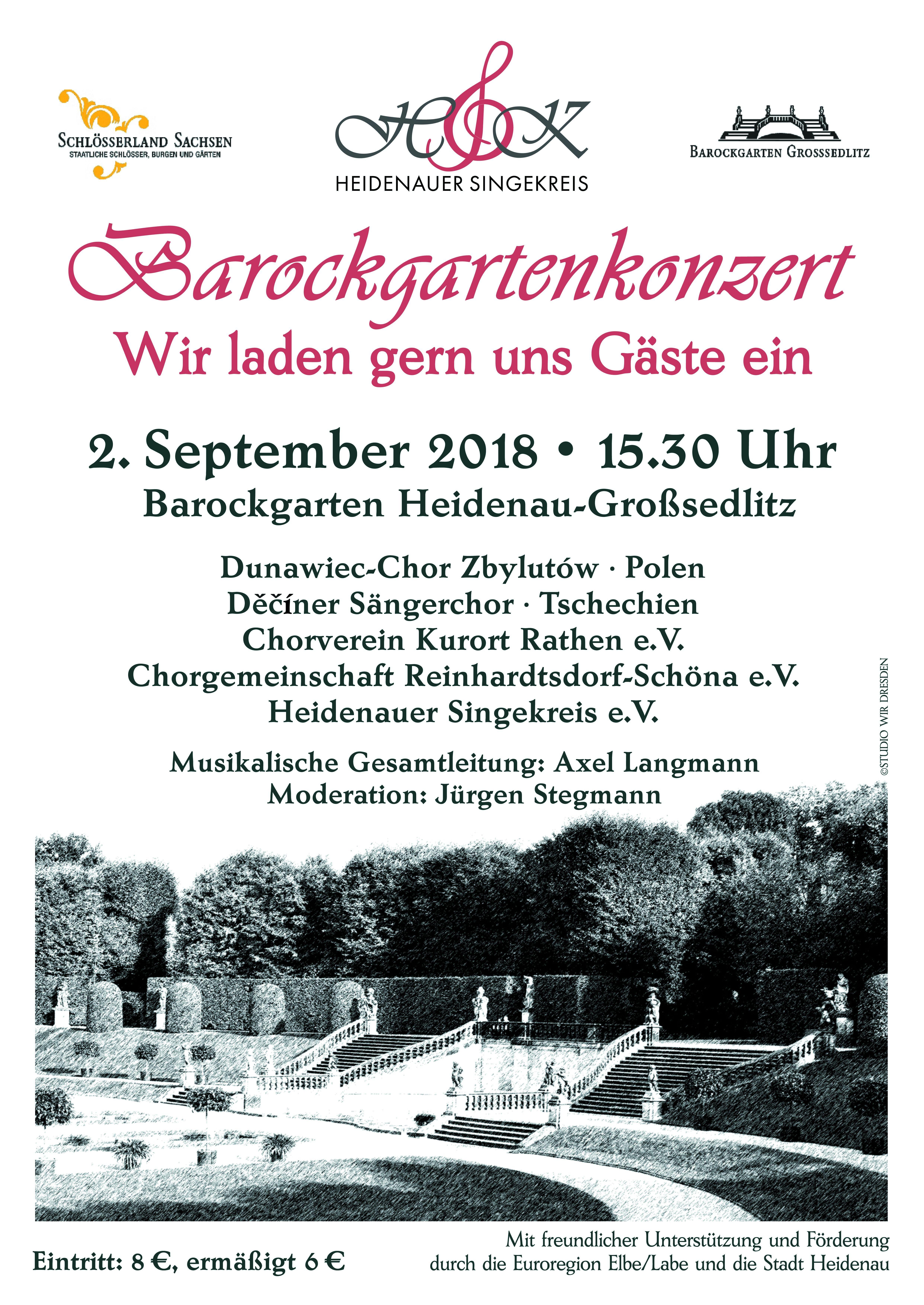 Koncert v Barokní zahradì v Grossedlitz